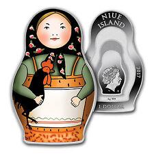 2017 Niue 1 oz Silver Proof Matryoshka Doll - SKU #115765