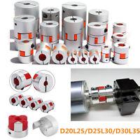 Plum Jaw Spider Shaft CNC Stepper Motor Coupling Flexible Coupler for 3D Printer
