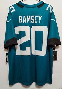 Jalen Ramsey Mens Jacksonville Jaguars Nike Teal Color Rush Legend Jersey XL NWT