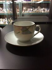 Bing & Grondahl Blue Orchide Coffee Cup #305. Orkide. Holds 1,25dl.