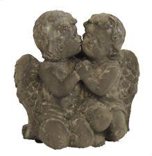 Figura Ángel de poyresin Pareja de Ángeles ángel para el interior y exterior