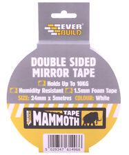 SPECCHIO nastro biadesivo può contenere fino a 10 KG 24 mm x 5 METRI MAMMOUTH Everbuild