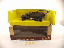 Solido 6045 • GMC Lot 7  • 1/50 neuf boite /boxed