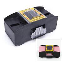 Automatic Poker Card Shuffler Battery Operated Game Playing Shuffling Machine FA
