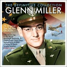 3 CD GLENN MILLER DEFINITIVE COLLECTION LITTLE BROWN JUG IN THE MOOD MOONLIGHT