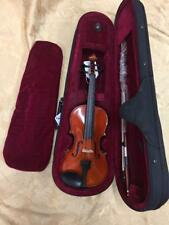 "Celestini 1/8 Size (10"") Student Violin Gloss Finish-Real Wood/Ebony-Shop Setup!"