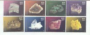 2011/12 Argentina Minerals I and Minerals II MNH 8 stamps