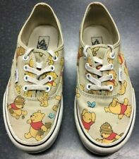 Vans Off The Wall Disney Winnie The Pooh Low Top Trainers Shoes Women's Size 4UK