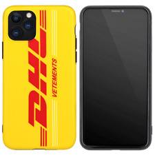 Vetements DHL A Bathing Ape Cover Case For iPhone 11 Pro Max XS XR 8 7 Plus 6 6S