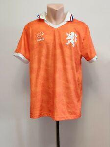 Football shirt soccer FC Netherlands Holland Home 1991/1992 Jersey Lotto EURO XL