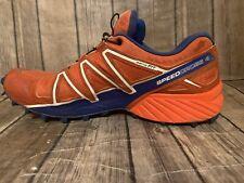 Salomon Speedcross 4 390723 Men's Shoes Orange Size 10  J