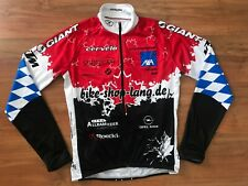 Mens Red SUGOI CANADA Giant Cervelo CYCLING JERSEY (S) *NICE COND*