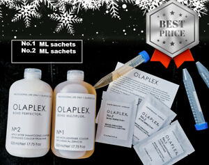 Repackaged OLAPLEX  NO.1 + NO.2 100% AUTHENTIC Directly No waste Easy To Use NEW
