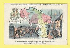 MAP  -  ANONYMOUS  POSTCARD  -  HAINAUT,  BELGIUM  -  C 1914