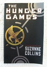 The Hunger Games Book 1 by Suzanne Collins, Scholastic Trade Paperback Edition
