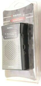 (Sealed) Vintage Radio Shack AM/FM Pocket Radio, Free Shipping Same-Day Handling
