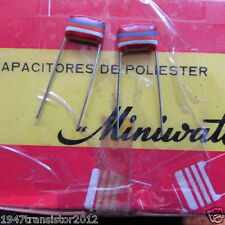 Mullard Tropical Fish Capacitors RADIAL .027uF, 27nF, 27000pF, 10%, 250v (2pcs)