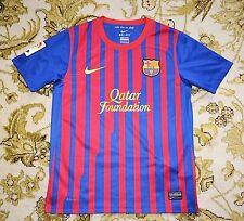 2011 - 2012 FC Barcelona, Home Shirt by Nike, Boys Medium 140 - 152, Age 10-12