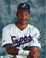 Henry Rodriguez  Autographed 8 x 10 Photo w COA in a  Montreal Expos  Uniform