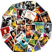 30 Stickerbomb Punk Rock Band Musik Film Aufkleber Sticker Mix Decals Cartoon e