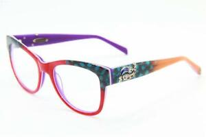 NEW COCO SONG CV 167 LOVE PLEASE COL. 3 RED PURPLE AUTHENTIC EYEGLASSES  51-19