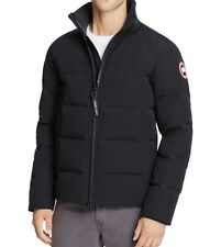New Authentic Canada Goose 2017 Woolford Down Bomber Jacket Nwt Navy