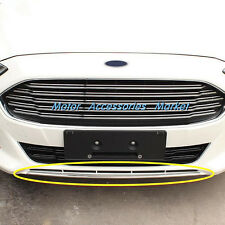 New Stainless Steel Chrome Front Bumper Trim For Ford Fusion 2013 2014 2015 2016