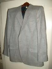 Farah & Co.100% Wool Mens Patterned Tweed  Sport, Suit Coat   44-L  Made  in USA