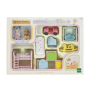 EPOCH Sylvanian Families Smile Baby Furniture Set Japan import NEW