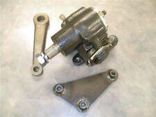 Street Rod Vega Box w/ Bracket & Pitman Arm 32 Ford Model A Chevy Manual Steer