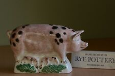 Rye Pottery Spotted Sow and Piglets - New and Boxed