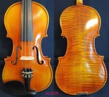 Solid wood Strad style SONG Brand flames violin 1/2,bigger resonant sound #12039