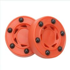 2Pcs Roller Hockey Durable ABS High-Density Practice Puck Perfectly Balance B2M5