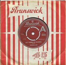 Brenda Lee:Ain't gonna cry no more/It takes one to know one:UK Brunswick:Popcorn