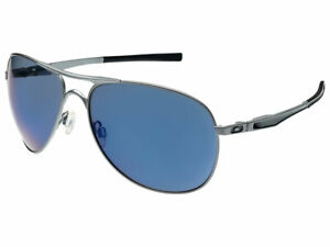 Oakley Plaintiff Sunglasses OO4057-30 Lead/Ice Iridium