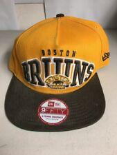Boston Bruins New Era 59fifty Vintage Style Hat Cap Snapback