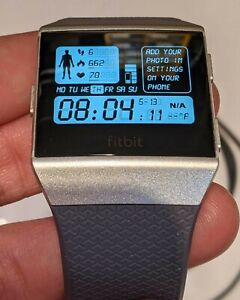 Fitbit Ionic FB503WTGY Activity Tracking - Gray/Silver