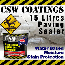 15L Paving Sealer - Moisture Stain Protection - Non Slip - Water Based