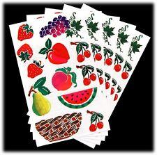 Mrs. Grossman's Retired Vintage Posh Fruit Basket Stickers Lot 5 Sheets