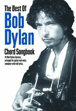 The Best Of Bob Dylan Chord Songbook Learn to Play Piano Guitar Music Book FOLK
