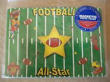 Football 4-In-1 Magnetic Photo Frame, (3 Photo Frames & 1 Magnet) NEW IN PACKAGE