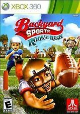 Backyard Sports: Rookie Rush (Microsoft Xbox 360, 2010) NEW