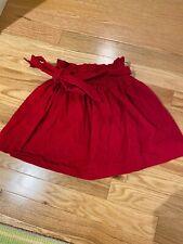 Bella Bliss Red Corduroy Skirt 6