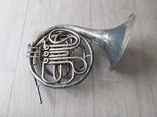 Antikes Horn von  C. G. Conn Elkhard Indiana USA aus Nachlass selten Instrument