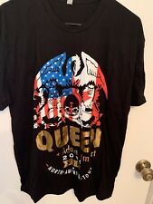 Queen Plus Adam Lambert, Vip Tee Shirt, North American Tour 2014, Nwot, Size Xl