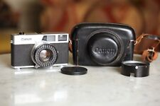 Canon Canonet, Early Model Rangefinder, With leather case, NICE!