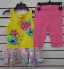 Toddler Girls Flapdoodles 2pc BlazingYellow Dress w/ Leggings Set Szs 2/2T - 6X