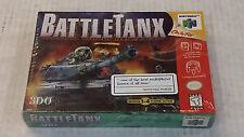 BattleTanx (Nintendo 64, N64 1998) Game / FACTORY SEALED - VERY RARE !