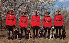 CPA GUERRE ROYAL CANADIAN MOUNTIES IN ACTION