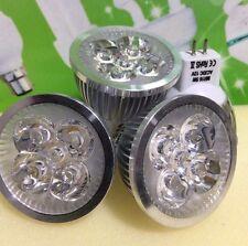 LED SPOT LIGHT BULB 5W=50W MR16 ,12V, FOUR PIECES,WARM LIGHT, £7.99,WOW BARGAIN
